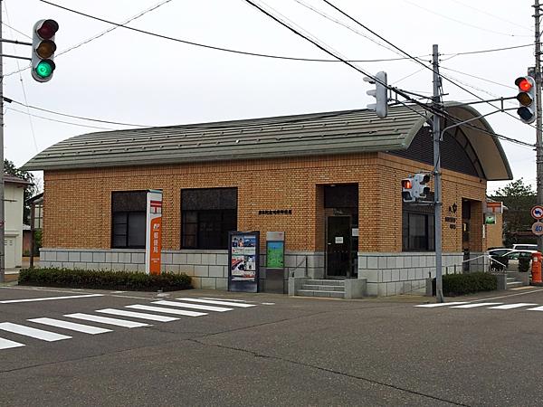 前島記念池部郵便局の局舎