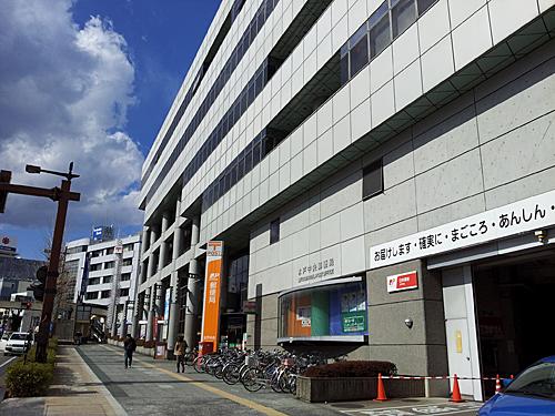 会場の水戸中央郵便局