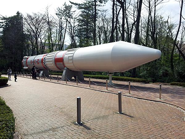 宇宙科学研究所相模原キャンパスのロケット